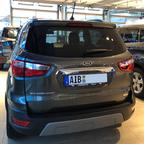 """Mein """"Neuer EcoSport Titanium"""" von hinten"""